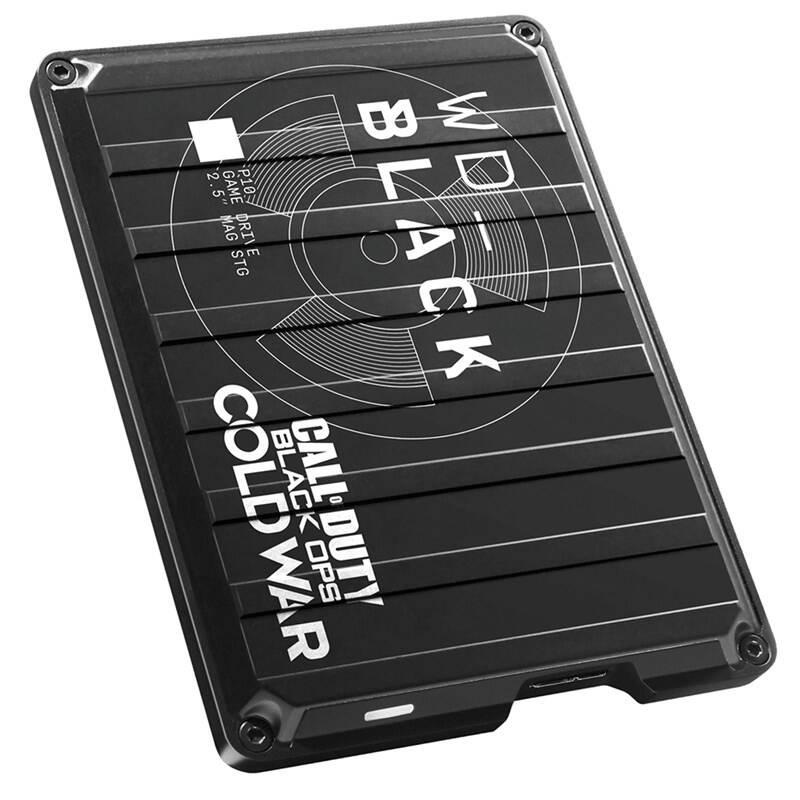 Externý pevný disk Western Digital Black P10 Game Drive 2TB Cold War (WDBAZC0020BBK-WESN) čierny + Doprava zadarmo