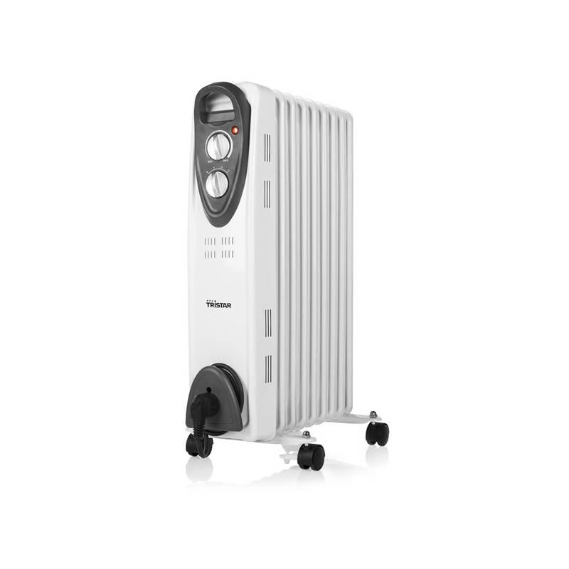 Olejový radiátor Tristar KA-5089 černý/bílý