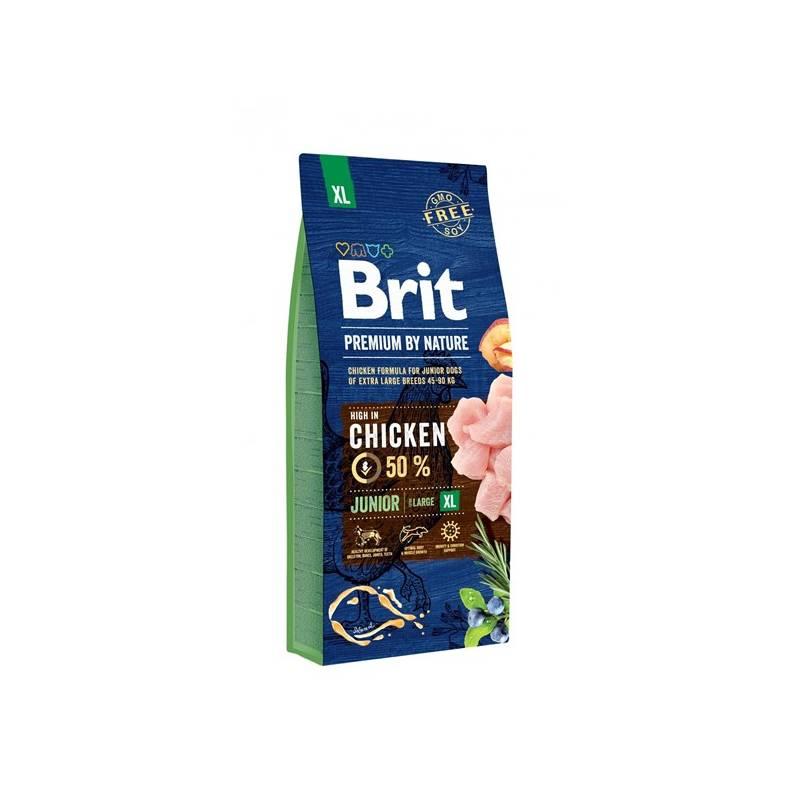 Granule Brit Premium Dog by Nature Junior XL 15 kg