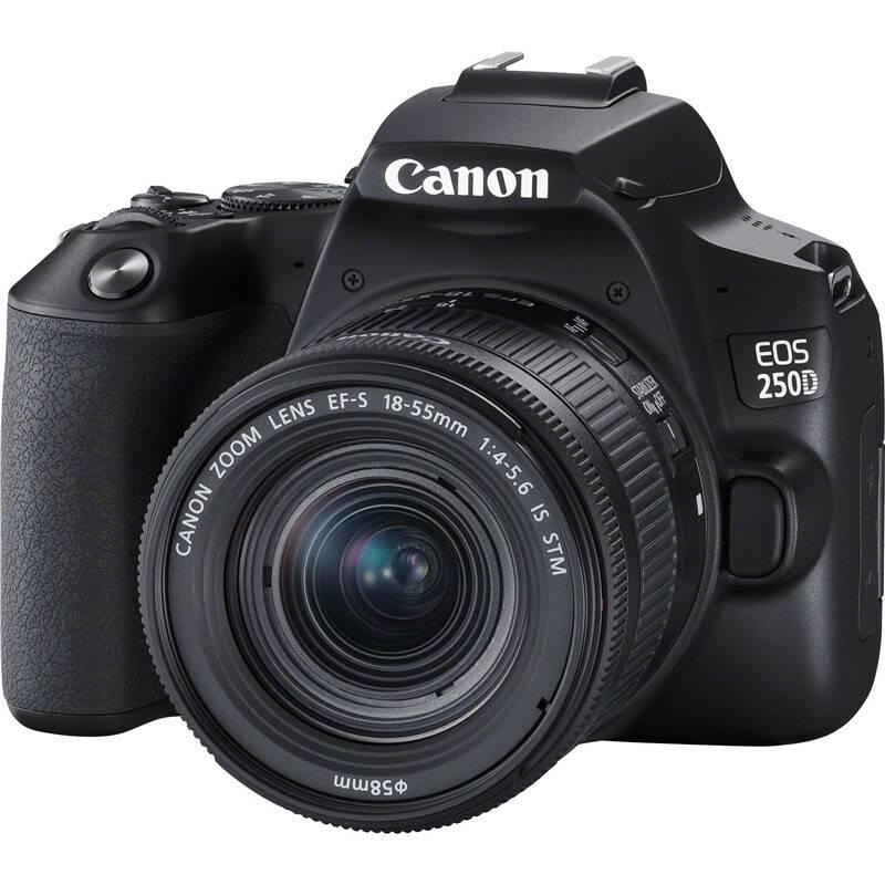 Digitálny fotoaparát Canon EOS 250D + 18-55 IS STM (3454C002) čierny + Doprava zadarmo