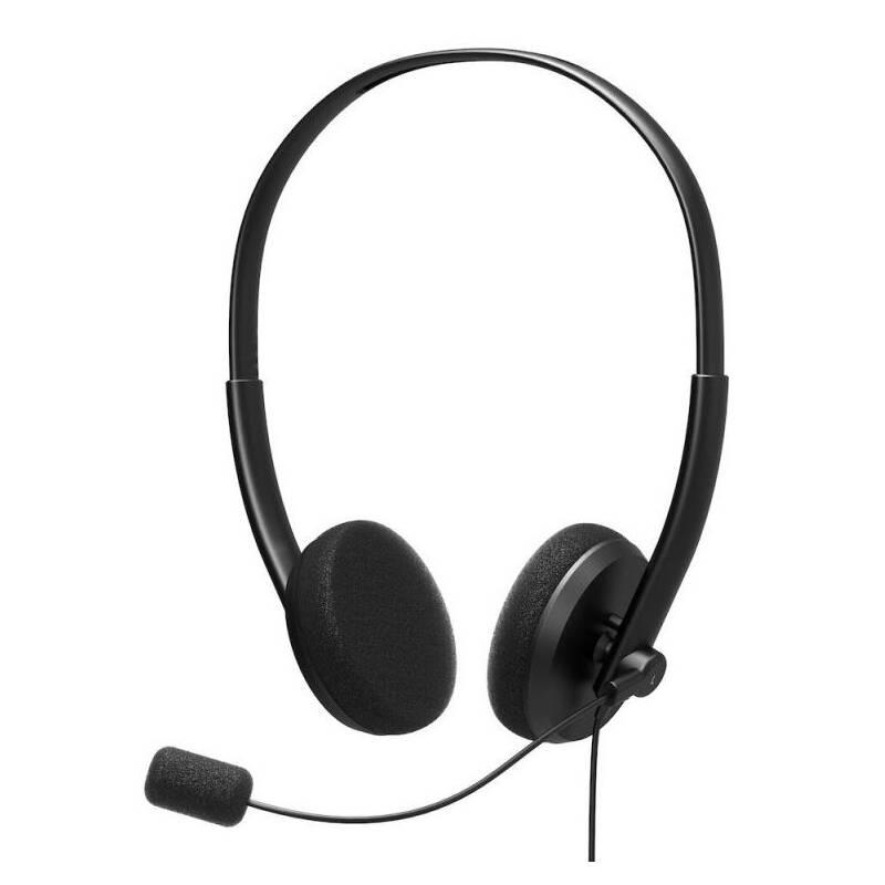 Headset PORT CONNECT Stereo, USB (901604) čierny + Doprava zadarmo