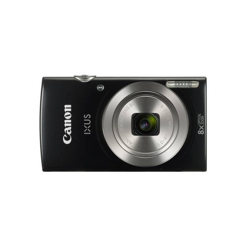 Digitálny fotoaparát Canon IXUS 185 + orig.pouzdro čierny