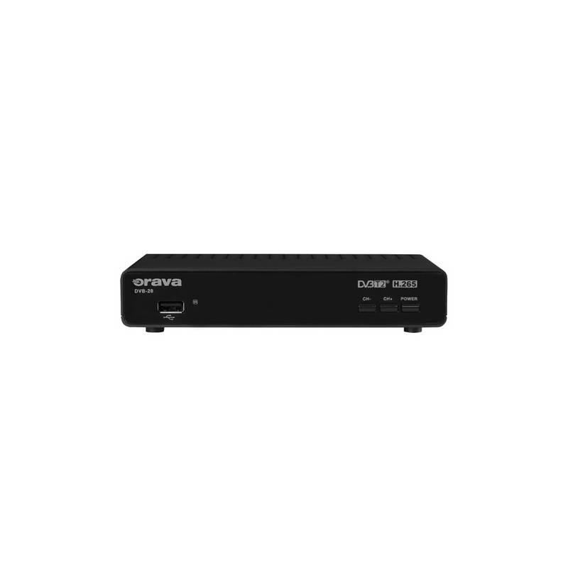 DVB-T prijímač Orava SK DVB-20 čierny