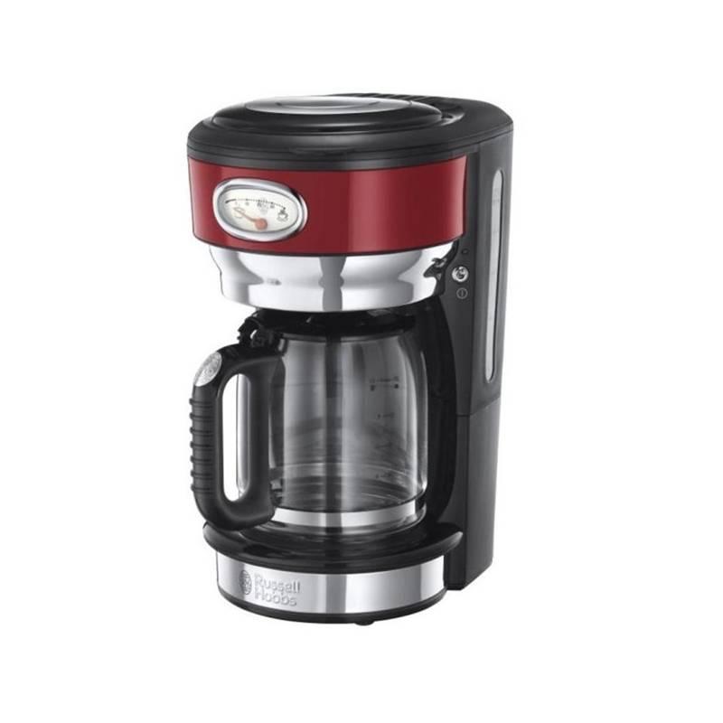 Kávovar RUSSELL HOBBS RETRO 21700-56 červený