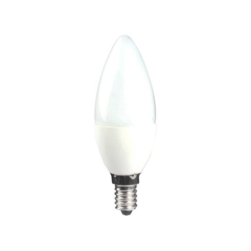 LED žiarovka McLED svíčka, 5W, E14, teplá bílá
