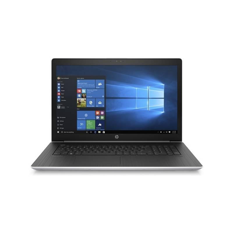 Notebook HP ProBook 470 G5 (4WU85ES#BCM) černý/stříbrný