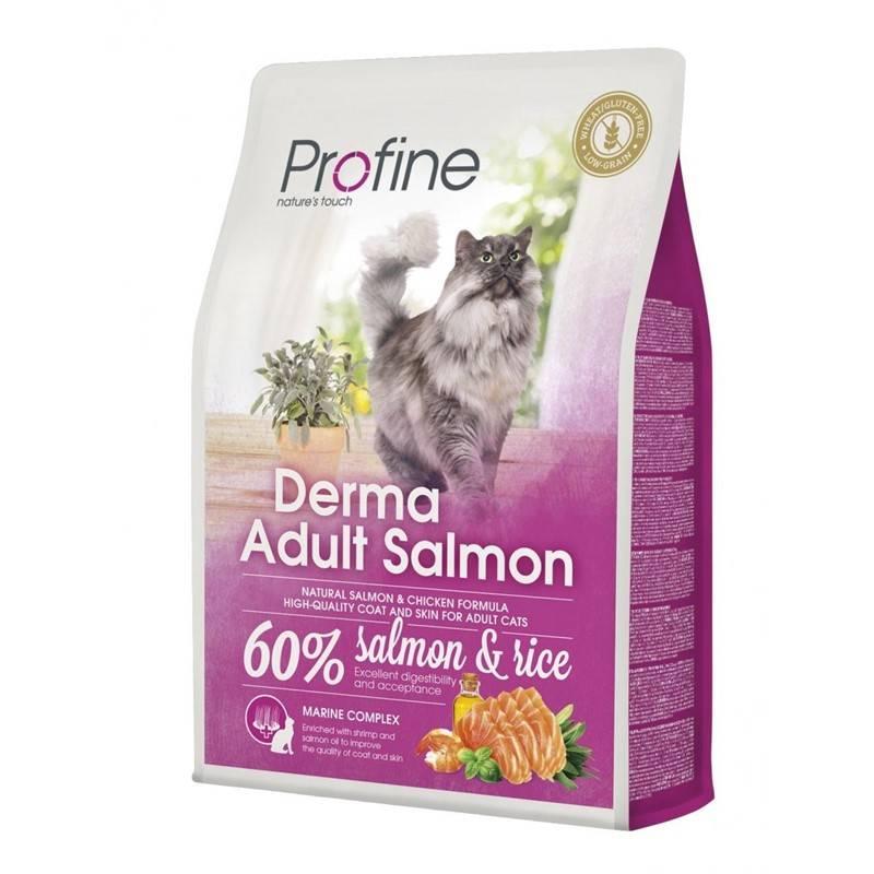 Granule PROFINE Cat Derma Adult Salmon 2kg