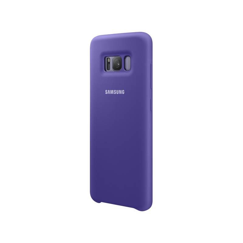 Kryt na mobil Samsung Silicon Cover pro Galaxy S8+ (EF-PG955T) (EF-PG955TVEGWW) fialový