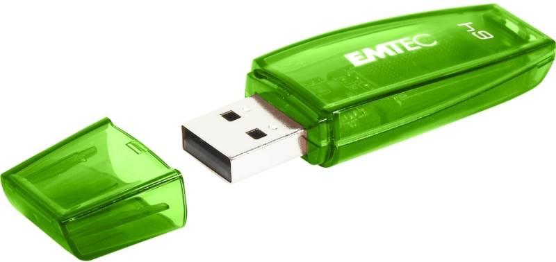USB flash disk Emtec C410 64 GB (ECMMD64GC410) zelený