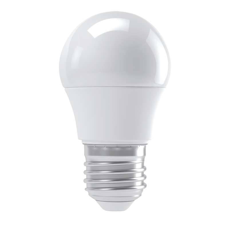 LED žiarovka EMOS mini globe, 4W, E27, neutrální bílá (1525733406)