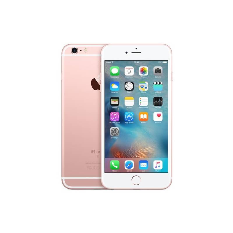 Mobilný telefón Apple iPhone 6s Plus 16GB - Rose Gold (MKU52CN/A) ružový + Doprava zadarmo