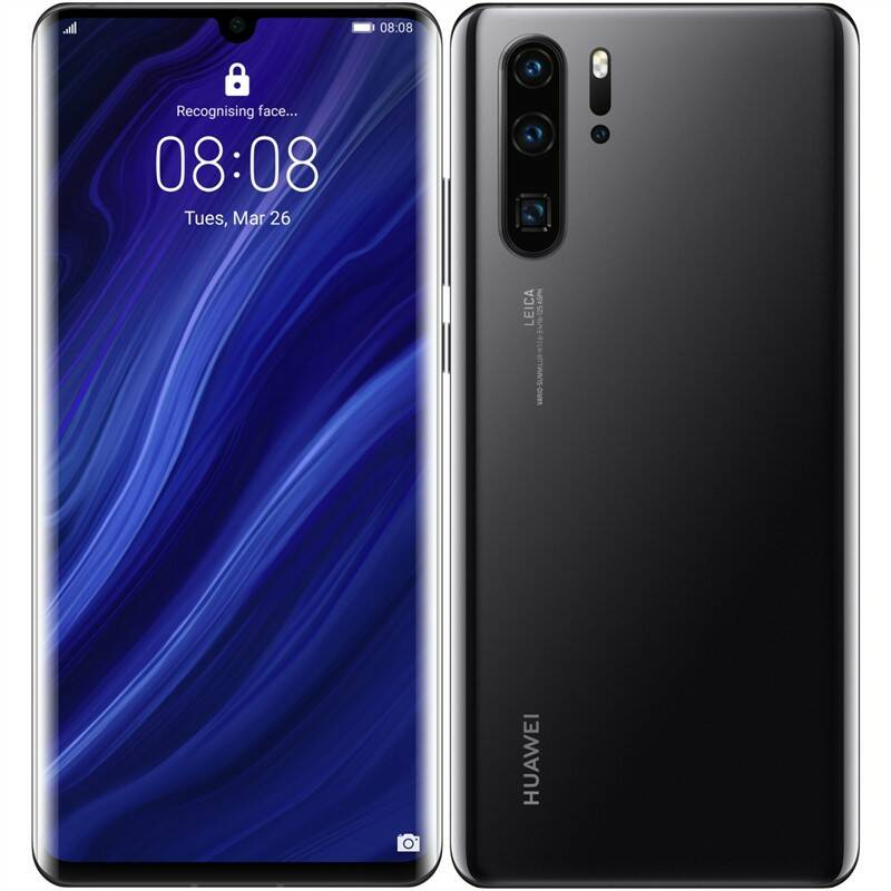 Mobilní telefon Huawei P30 Pro 128 GB - Black (SP-P30P128DSBOM)