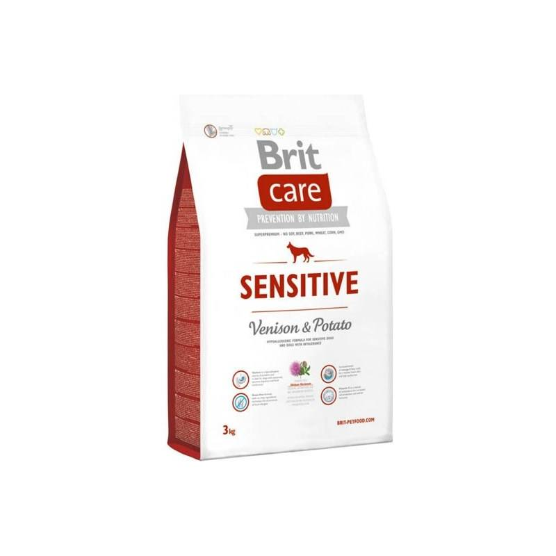 Granuly Brit Care Sensitive Venison & Potato 3 kg