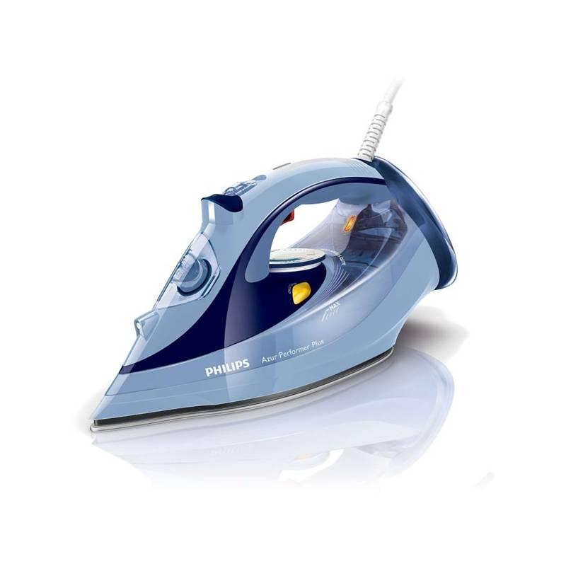 Žehlička Philips Azur Performer Plus GC4521 20 modrá  f89c13d1692