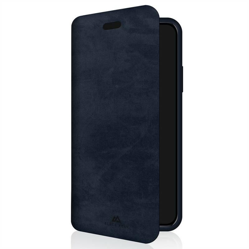 Púzdro na mobil flipové Black Rock The Statement Booklet na Apple iPhone XR (BR1072STM25) modré