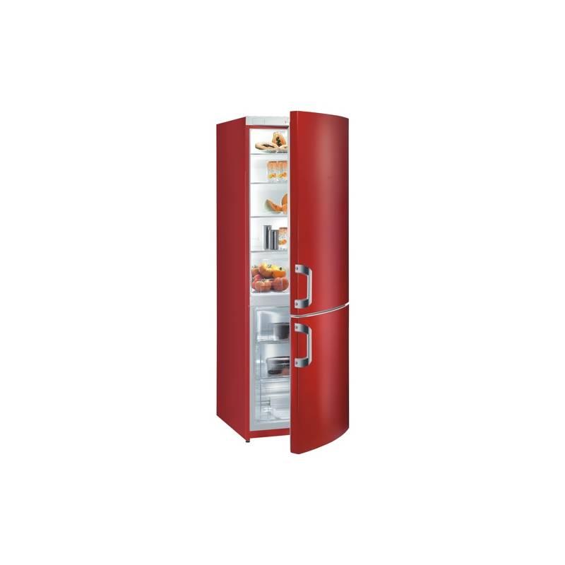 620996a5a Kombinácia chladničky s mrazničkou Gorenje RK 60359 HRD červená   HEJ.sk