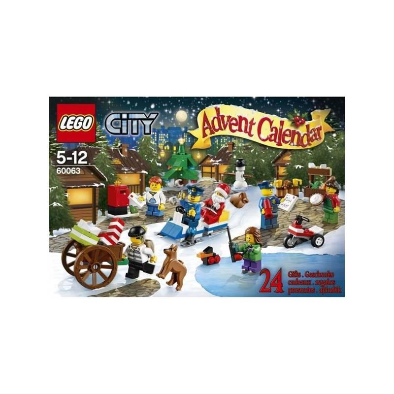 Zestawy Lego City City 60063 Kalendarz Adwentowy 2014 Eukasapl