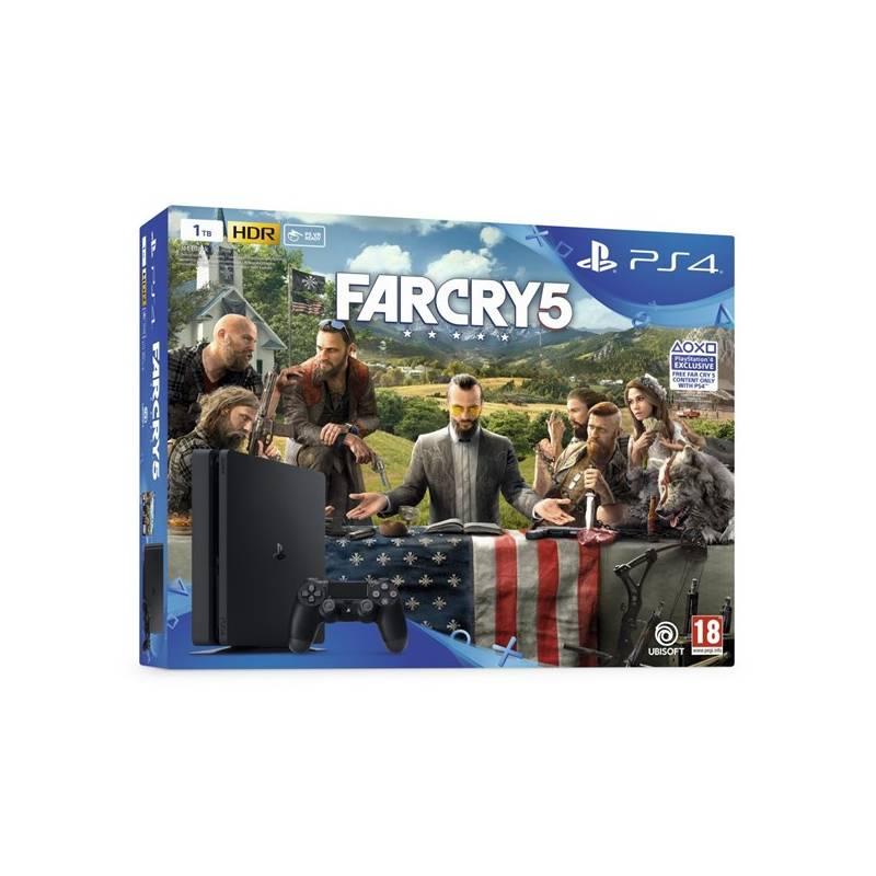 Herná konzola Sony PlayStation 4 SLIM 1TB + Far Cry 5 (PS719377672) + Doprava zadarmo