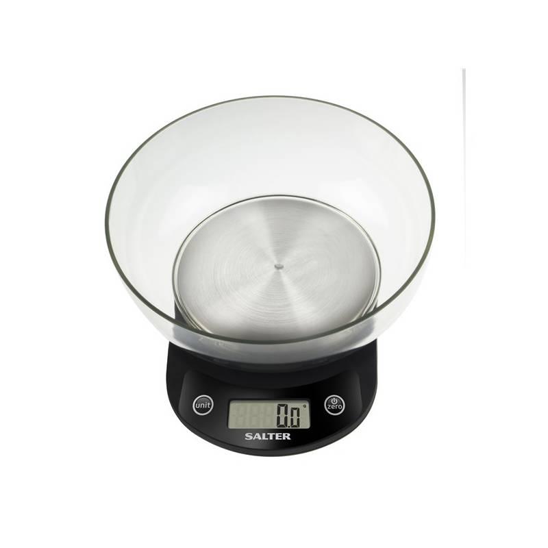 Kuchynská váha Salter 1083BKSSDR čierna