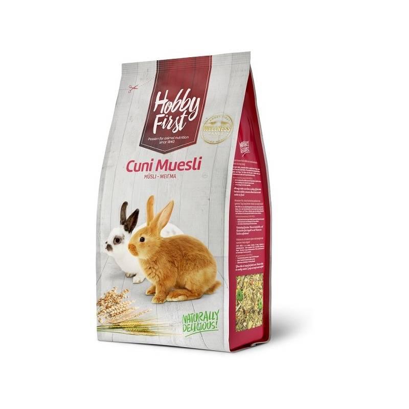 Krmivo Hobby First Králík müsli 3 kg