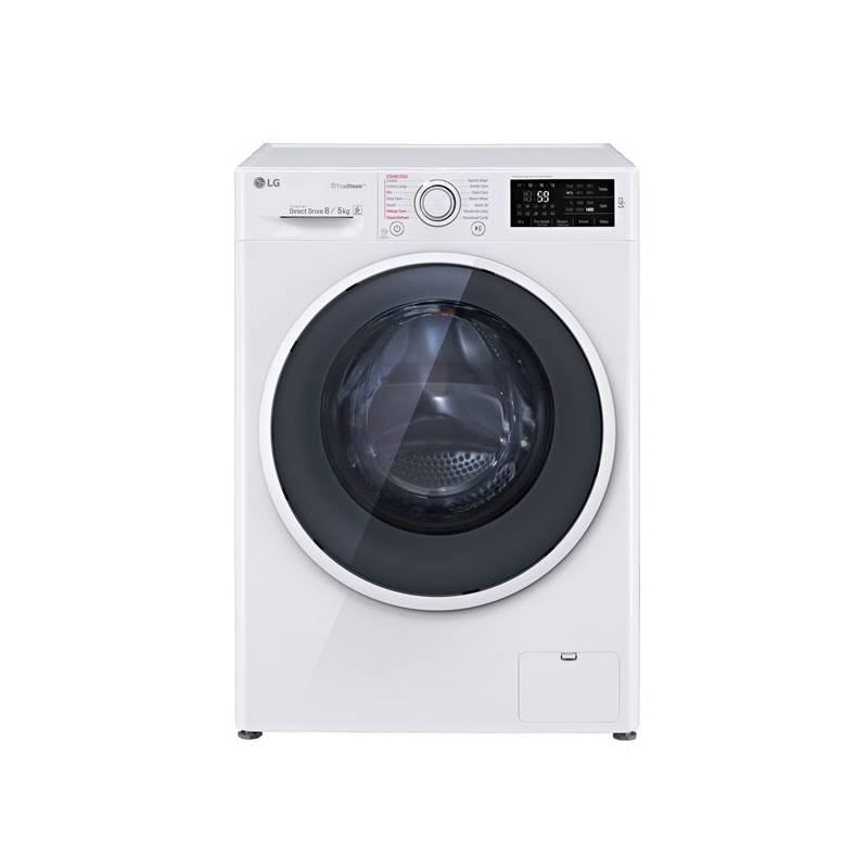 Automatická práčka so sušičkou LG F84U2TDH0N biela + dodatočná zľava 10 % + Doprava zadarmo