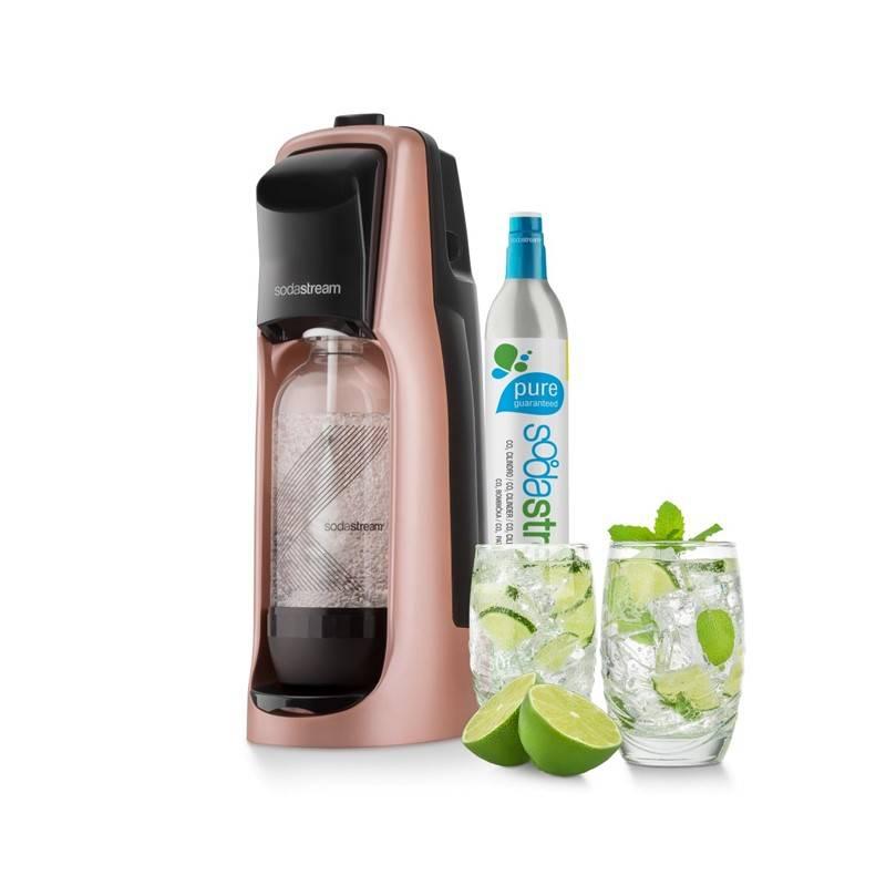 Výrobník sódovej vody SodaStream Jet PREMIUM RŮŽOVÝ ružový