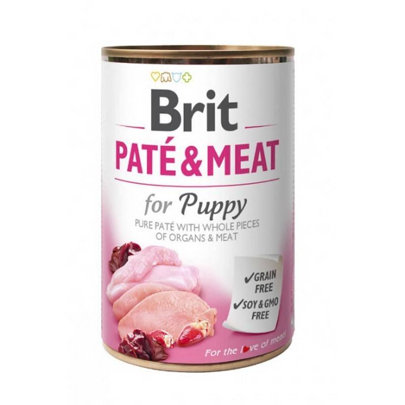 Konzerva Brit Dog Paté & Meat Puppy 800 g