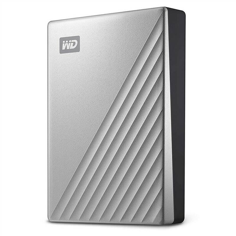 "Externí pevný disk 2,5"" Western Digital My Passport Ultra 4TB (WDBFTM0040BSL-WESN) stříbrný"
