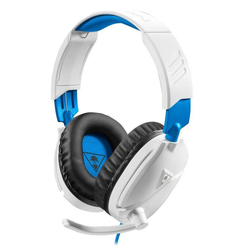 Headset Turtle Beach Recon 70P pro PS4, Xbox One, Nintendo (TBS-3455-02) biely