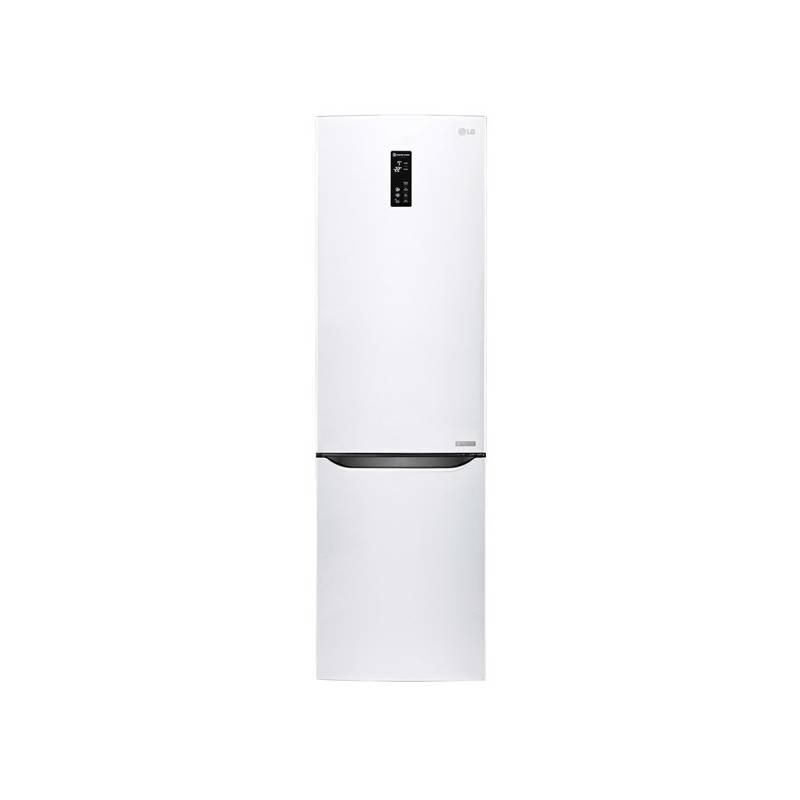 Kombinácia chladničky s mrazničkou LG GBB60SWFFS biela + Doprava zadarmo