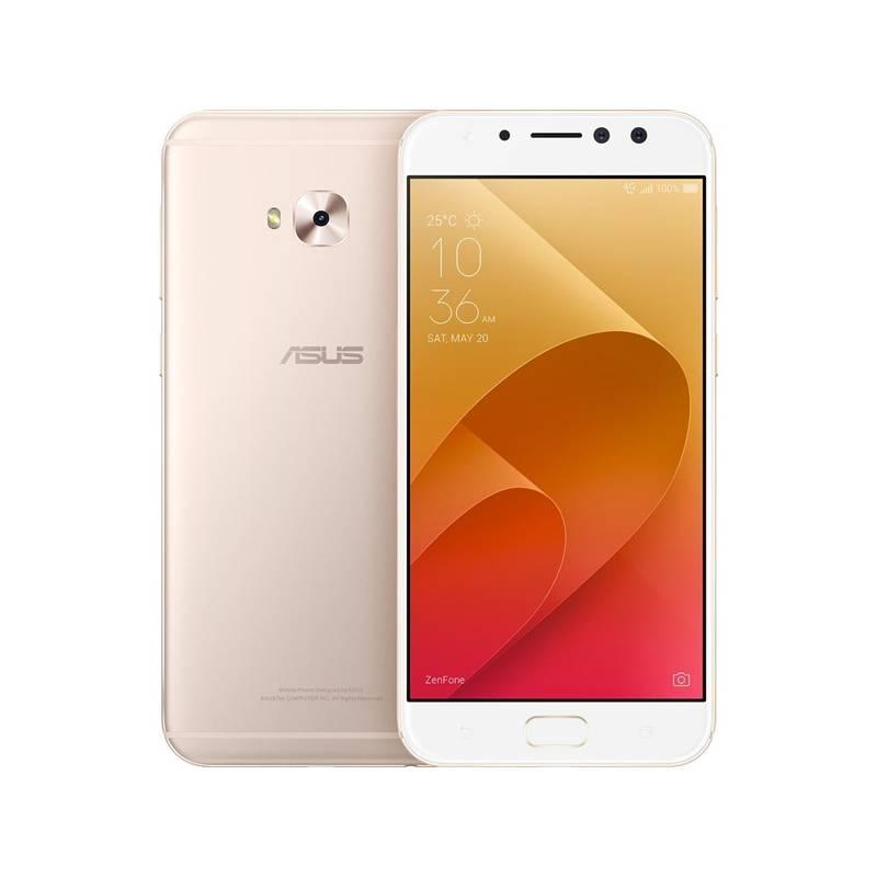 Mobilný telefón Asus ZenFone 4 Selfie Pro (ZD552KL-5G022WW) (ZD552KL-5G022WW) zlatý Software F-Secure SAFE, 3 zařízení / 6 měsíců (zdarma) + Doprava zadarmo
