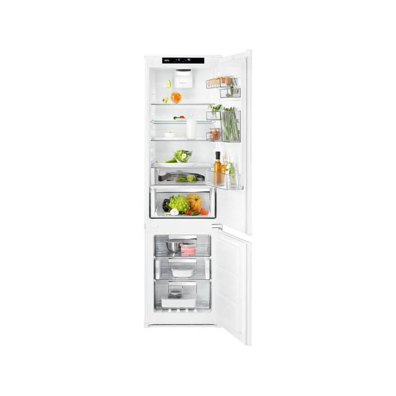Kombinácia chladničky s mrazničkou AEG SCE81926TS + Cashback 80 € + Doprava zadarmo