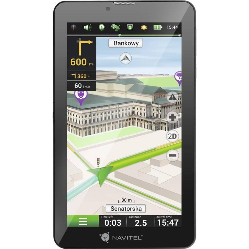 Navigačný systém GPS Navitel T700 3G Pro, tablet čierna + Doprava zadarmo