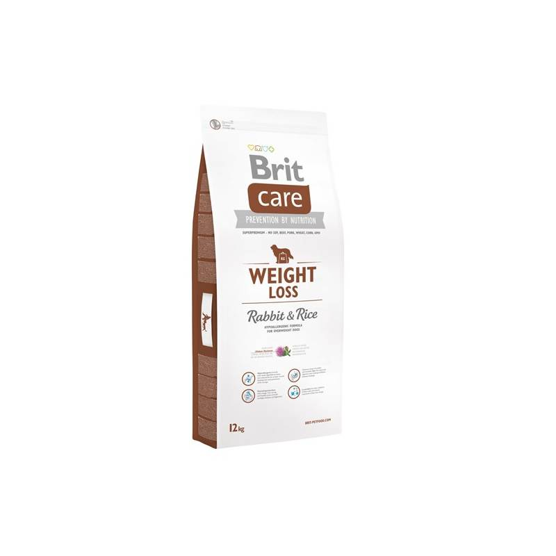 Granuly Brit Care Weight Loss Rabbit & Rice 12 kg