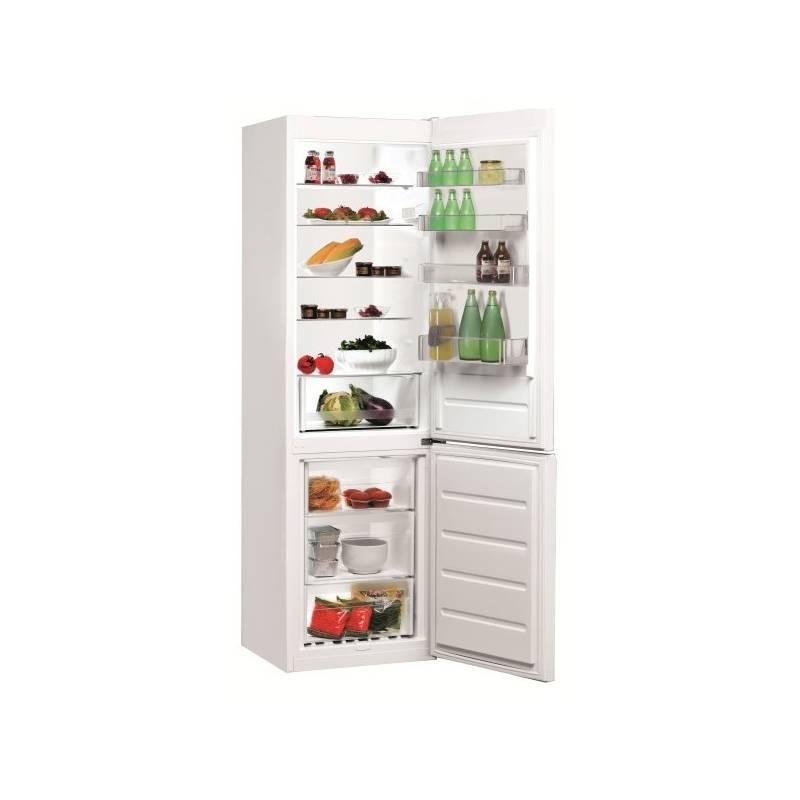 Kombinácia chladničky s mrazničkou Indesit LI9 S1Q W biele