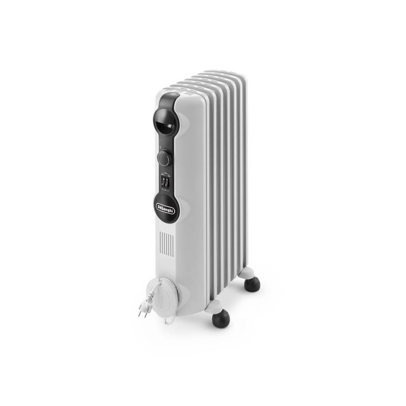 Olejový radiátor DeLonghi TRRS 0715 SE biely