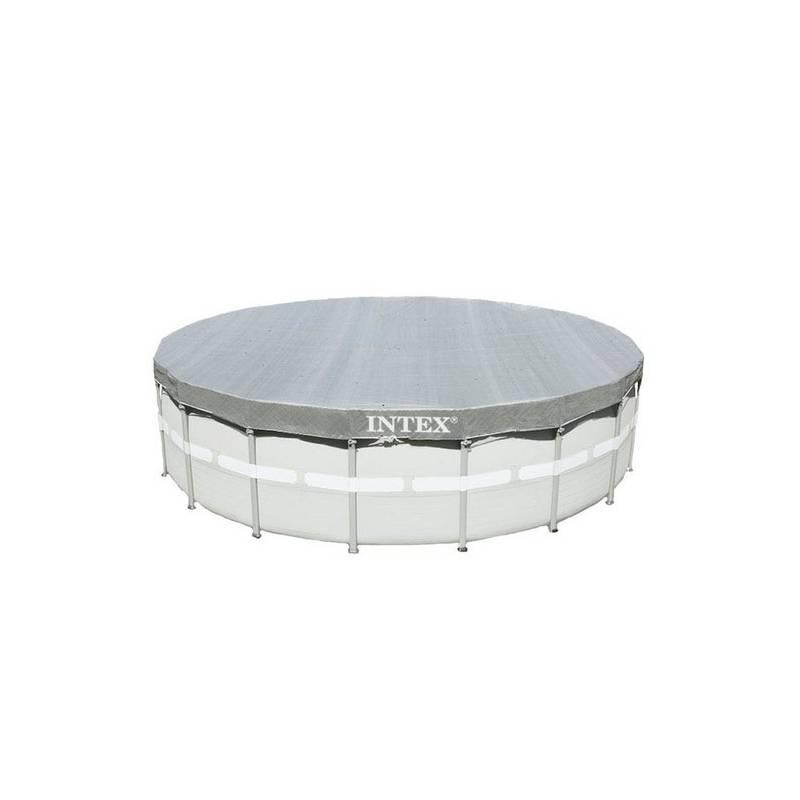 Krycia plachta Intex Deluxe pro bazény Frame-Pool průměr 488 cm (28040)
