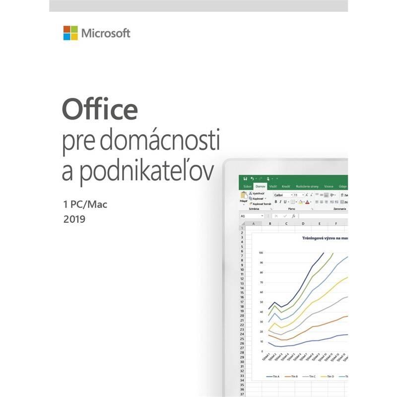 Software Microsoft Office 2019 pre domácnosti a podnikatelov SK (T5D-03231) + Doprava zadarmo