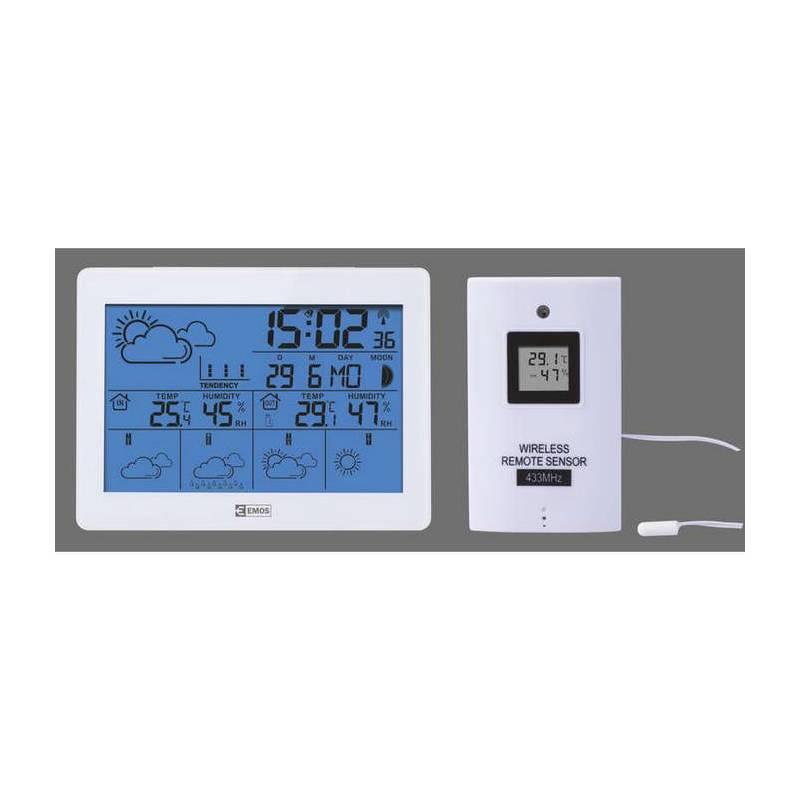 Meteorologická stanica EMOS E5068 (E5068) biela