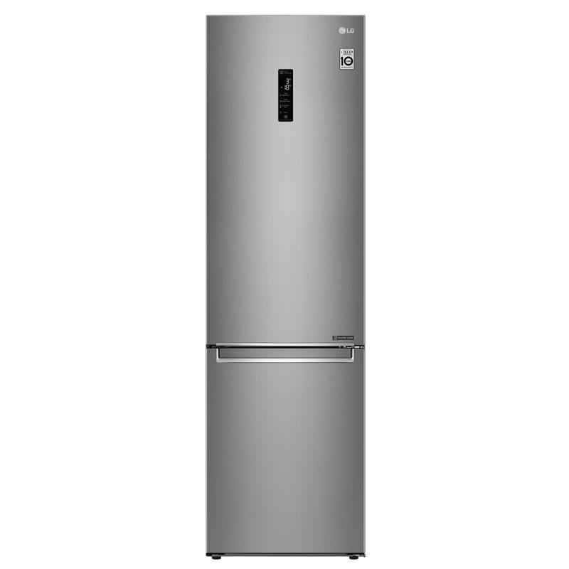 Chladnička s mrazničkou LG GBB72SADFN nerez + LG 10 let záruka na Lineární kompresor