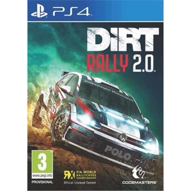 Hra Codemasters PlayStation 4 DiRT Rally 2.0 (4020628754365)