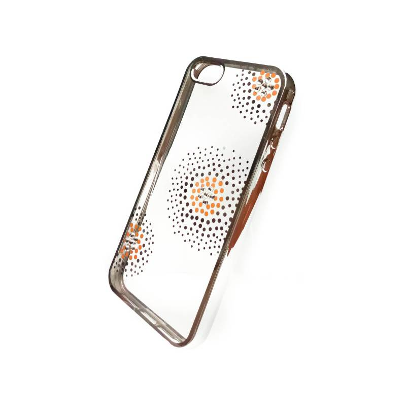 Kryt na mobil Beeyo Flower Dots pro Apple iPhone 5 5s SE (BEAAPIP5TPUFLSI e2f33aab8b9