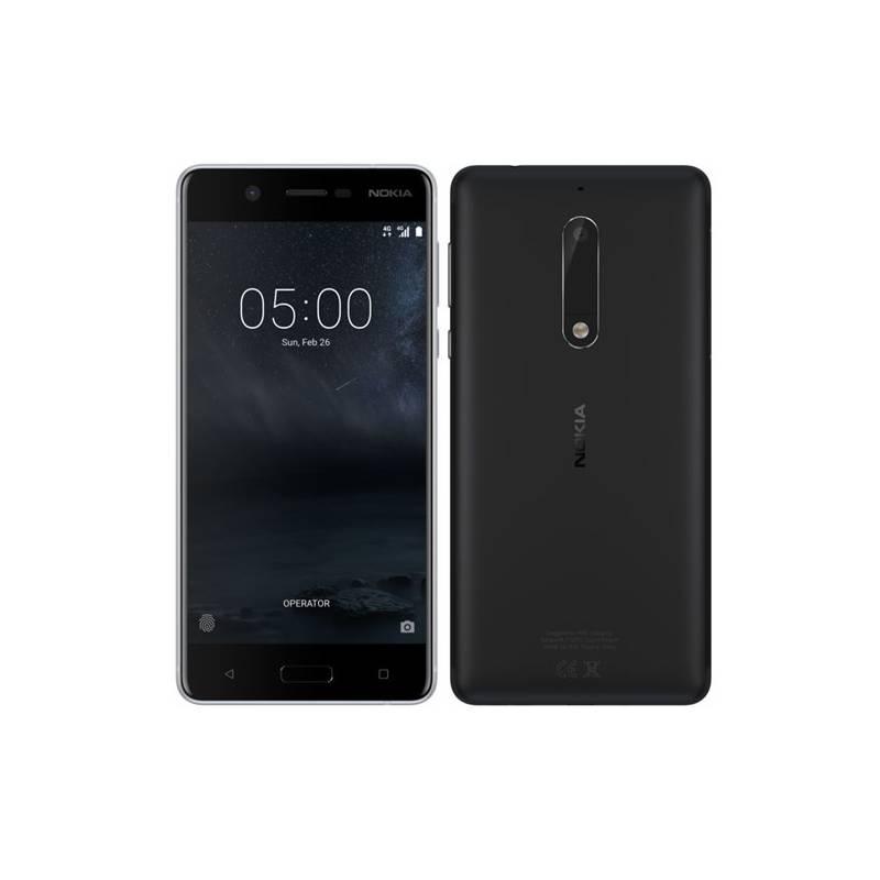 Mobilný telefón Nokia 5 Single SIM (11ND1B01A12) čierny + Doprava zadarmo