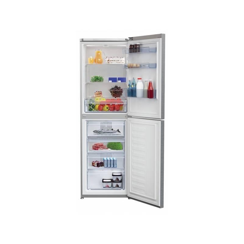 Kombinácia chladničky s mrazničkou Beko RCHE 390 K30XP Titanium + dodatočná zľava 10 % + Doprava zadarmo