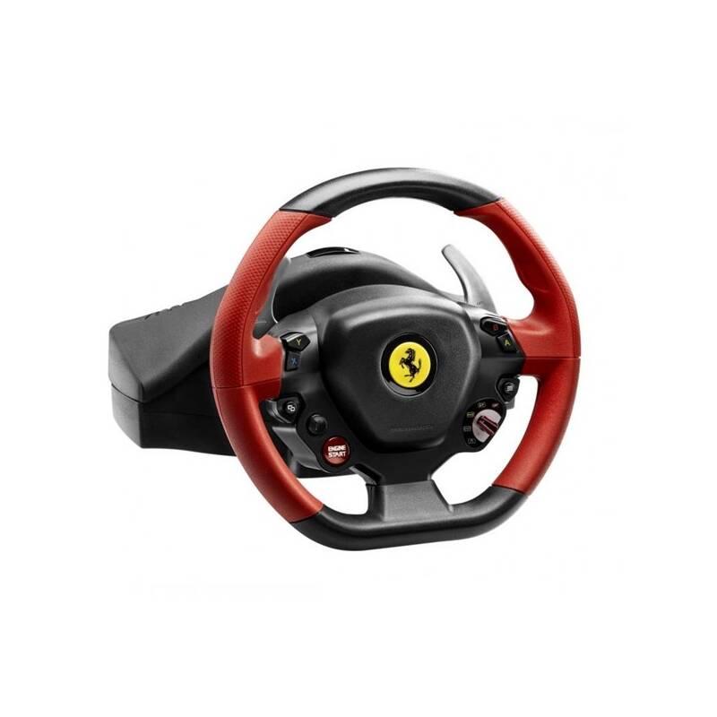 Volant Thrustmaster Ferrari 458 Spider pro Xbox One, One X, One S + pedály (4460105) čierny + Extra zľava 3 % | kód 3HOR2020 + Doprava zadarmo