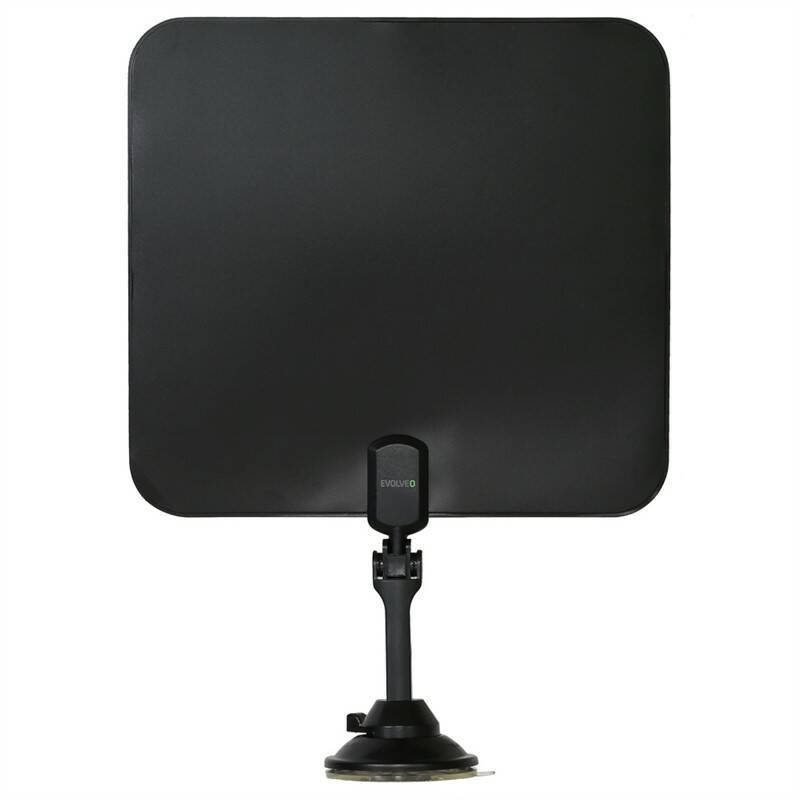 Anténa pokojová Evolveo Xany 2C LTE, 41dBi aktivní DVB-T/T2, LTE filtr (tdexany2C)