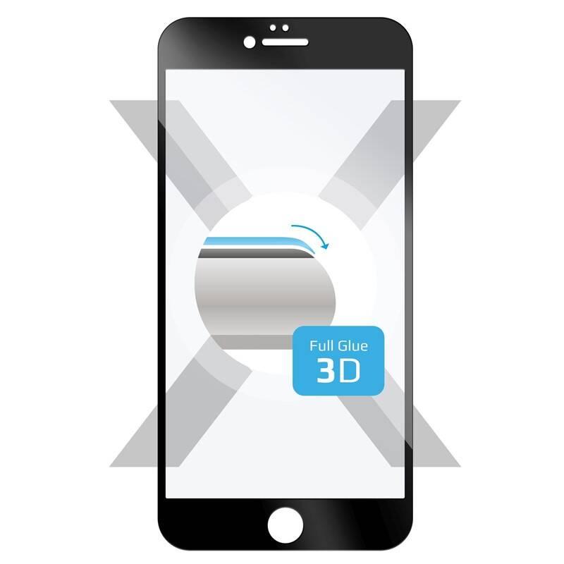 Tvrdené sklo FIXED 3D Full-Cover na Apple iPhone 6/6S (FIXG3D-003-BK) čierne