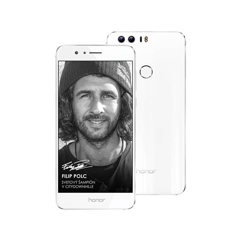 Mobilný telefón Honor 8 Dual SIM biely Software F-Secure SAFE 6 měsíců pro 3 zařízení (zdarma) + Doprava zadarmo