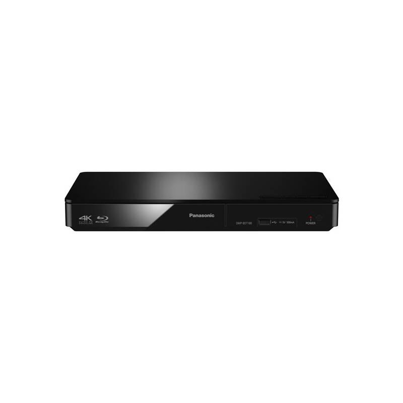 3D Blu-Ray přehrávač Panasonic DMP-BDT180EG černý