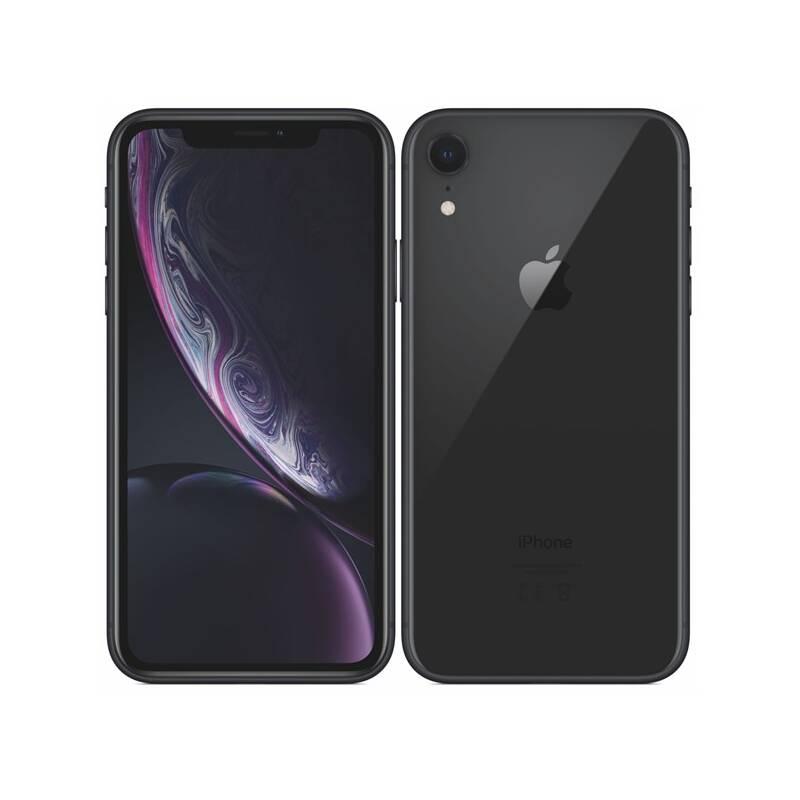 Mobilný telefón Apple iPhone XR 64 GB - black (MRY42CN/A) + Doprava zadarmo